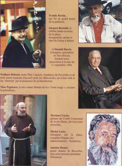 AVM -Les membres fondateurs en 1986