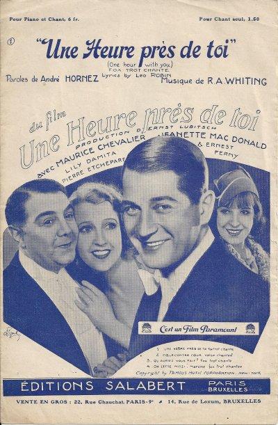 Maurice Chevalier se baladais sur le Vieux Marché et l'ai ramené chez moi