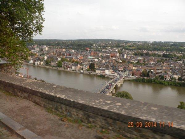 prise de vue de Namur