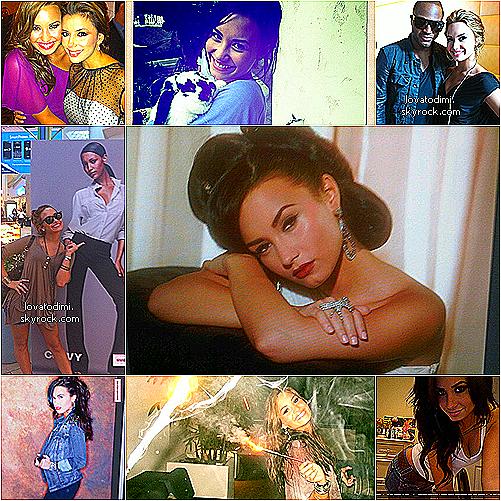 .  Découvrez quelques photos personnelles de Demetria Lovato !     .