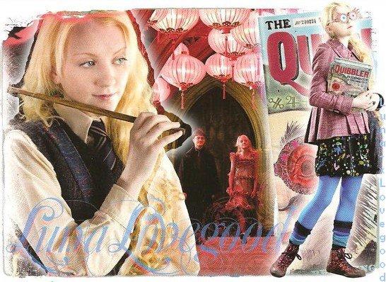Tout Homme s'enrichît quand abonde l'esprit. Luna Lovegood -Harry Potter et l'Ordre du Phénix.