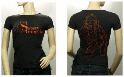 Tu veux être Fashion ?? Reserve ton T-Shirt Sweetygangsta !!! :-)