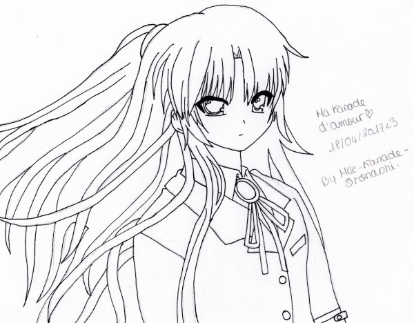 //Dessin #1 (Angel Beats)