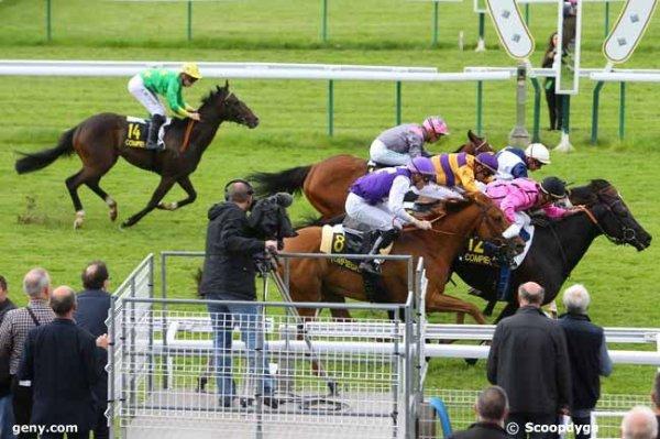 jeudi 26 mai2016 compiègne quinté de plat  16 chevaux arrivée   12   7   5   8   1