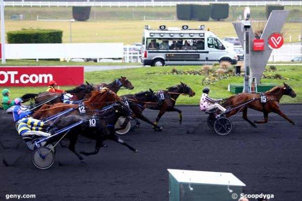 lundi 9 janvier 2017 vincennes 18 chevaux trot attelé arrivée 15 11 5 14 10