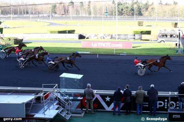 ce vendredi 13 janvier 2017 vincennes trot attelé 18 chevaux mon choix 15 5 2 3 4 .......résultat 15 12 2 10 3