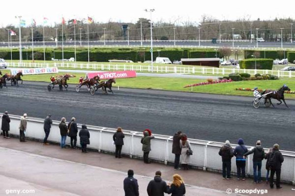samedi 4 février un quinté de trot attelé 17 chevaux - mon choix 6 13 1 2 12 ....à vincennes arrivée 6 4 9 14 5