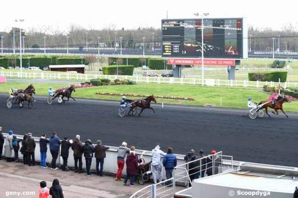 mercredi 8 février 2017 vincennes 18 chevaux quinté de trot attelé arrivée 5 14 10 12 14
