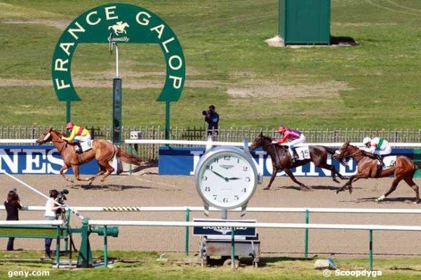 dimanche 9 avril 2017 -chantilly 16 chevaux mon choix:  4 9 5 13 2 .....arrivée 9 15 6 5 4