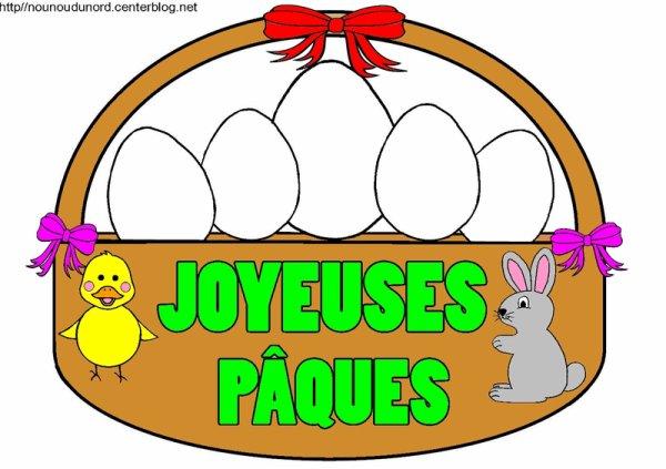 a tous et toutes de bonnes fêtes de pâques de claude-alain