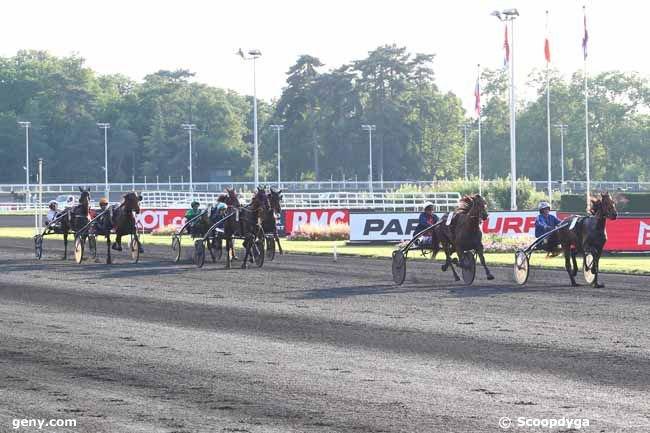 mardi 25  juin 2019 -  vincennes 14 chevaux arrivée 8 7 13 5 10