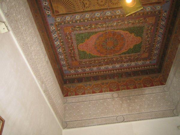 Les plafonds sont magnifiques !
