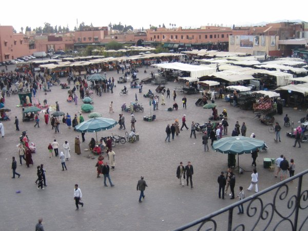 La place Djema El Fna