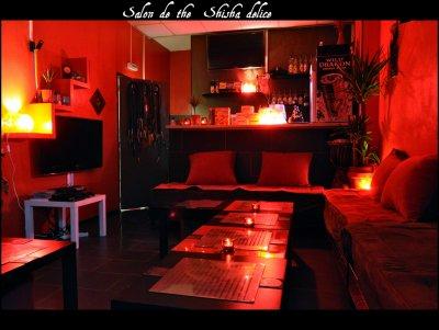 """Salon de thé """"SHISHA DELICE"""". 1 allée du commerce 94000 Créteil"""