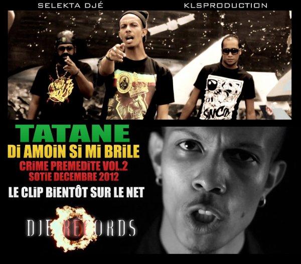 "Tatane ""Dia mwin si mi brile"" (Djé record) 2012Crime prémédité 2 (2012)"