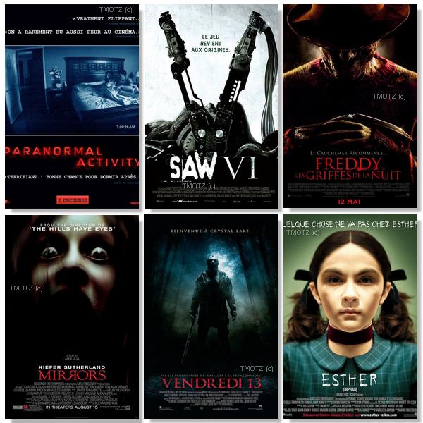 RUBRIQUE Election du meilleur film !Thème : horreur.. BOUH !