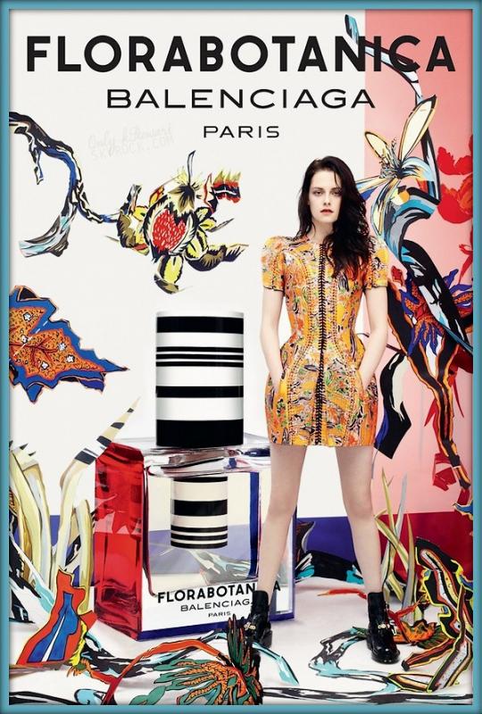 """. ᘛ  Découvrez l'affiche du nouveau parfum """"FloraBotanica"""" de Balenciaga ᘚ."""