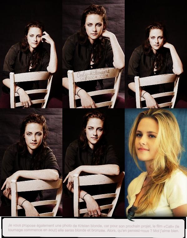 . ᘛ  Voici des photos portraits de Kristen prise pour le Festival de Cannes ᘚ.
