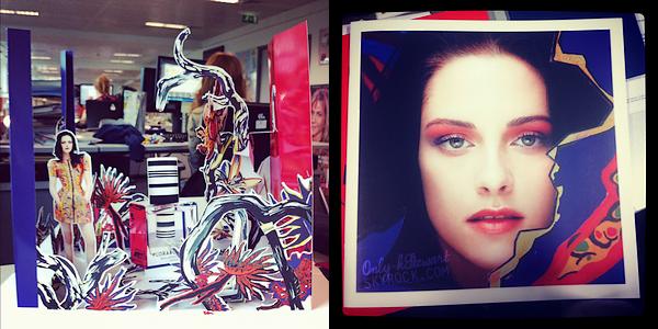 . ᘛ  Voici un nouveau shoot pour Balenciaga ainsi qu'une maquette et une image ᘚ.