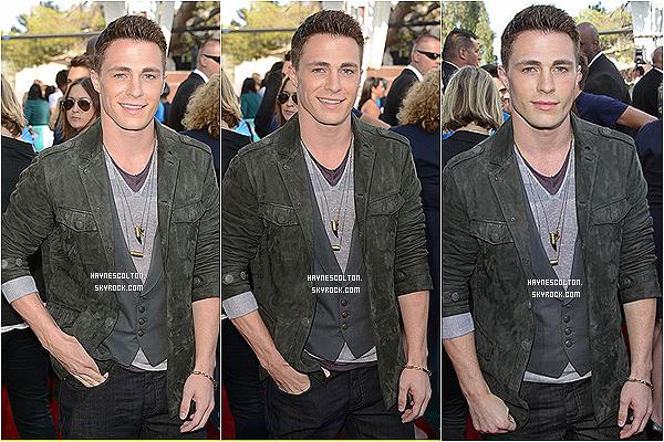 . • le 3 juin 2012 dernier Colton Haynes était présent aux MTV Movies Awards.