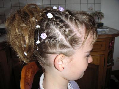 Photo Coiffure Pour Communion Fille Coupe De Cheveux A La Mode