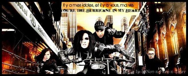 Tokio Hotel ou; 4 anges tombés du ciel. ♥