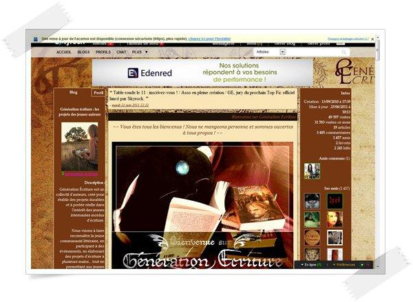 le blog de generation-ecriture