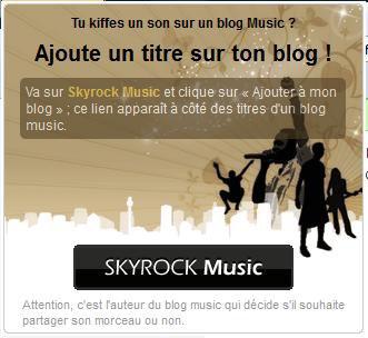 Sondage pour un Blog Music