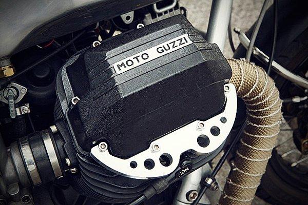 # MOTO GUZZI 950 LE MANS CAFE RACER - By John W