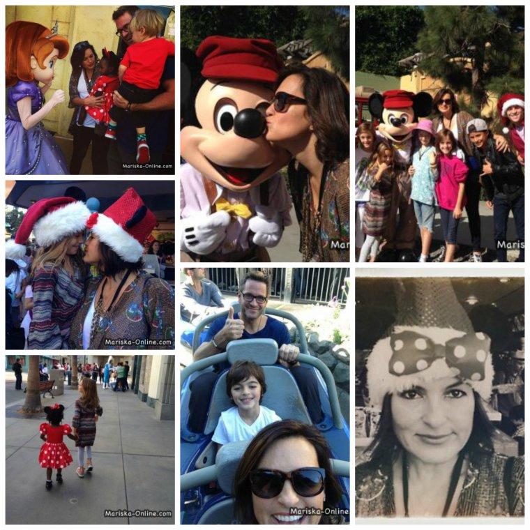 Mariska à DisneyLand le 20 novembre