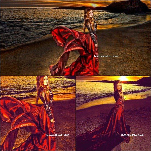 Un photoshoot de la belle Caitlin sur l'île de Catalina.