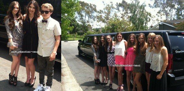 6 JUIN_ Caitlin s'est rendue au Fashion show Extravaganza de Marissa Kenson. 16 JUIN_ Caitlin et d'autres amies sont allées au concert des One Direction pour l'anniversaire de son amie, Taylor.
