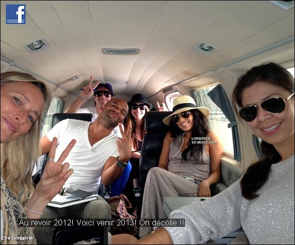 .. facebook .Voici les dernières photos qu'a postée Miss Eva Longoria sur son compte facebook..