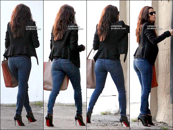 .29/01/13 : Eva Longoria a été photographiée alors qu'elle se rendait chez des amis à Hollywood. Top ou Flop ?.