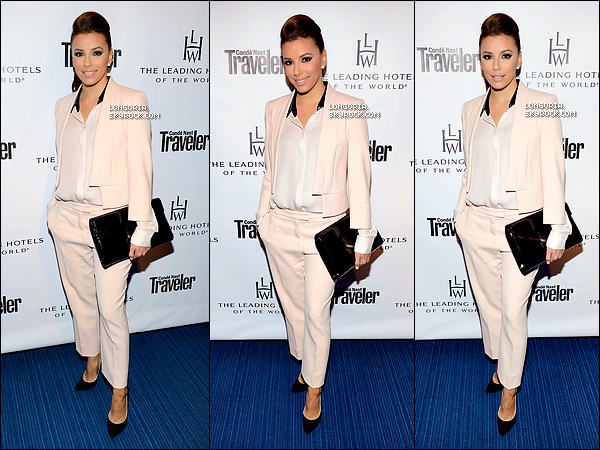 .13/02/13 : Eva, plus que sublime, au 85ème anniversaire de « Leading Hotels Of The World » à Beverly Hills..