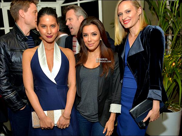 .18/02/13 : Eva été présente lors de la soirée « Vanity Fair And Juicy Couture Celebration » à Los Angeles..