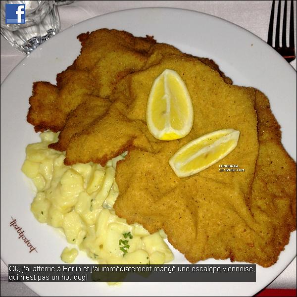 .27/02/13 : Notre Eva a été photographiée quittant le restaurant  «  Borchardt » dans la ville de Berlin (Allemagne)..