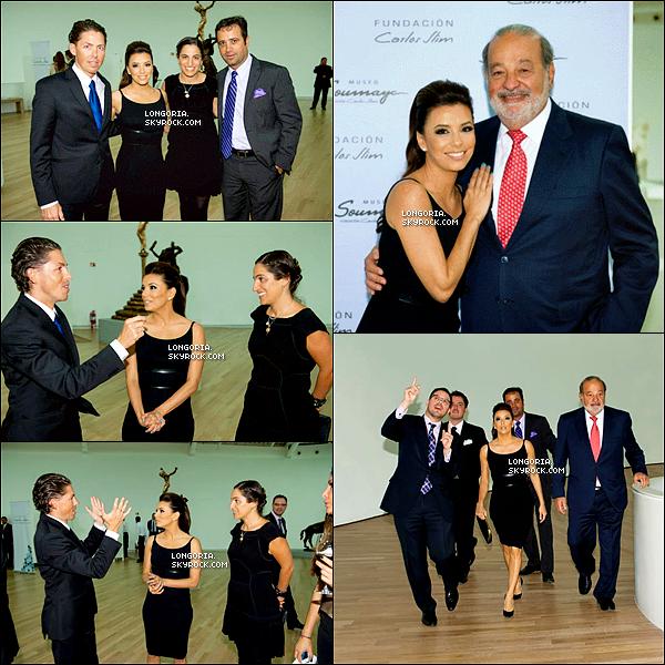 .21/03/13 : Miss bomba latina était aux « Global Gift Gala » du Mexique au cotès de Carlos Slim et ses 2 amies..