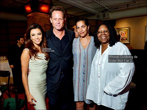 .18/04/13 : Eva été au déjeuner « Juror Welcome » au « Tribeca Film Festival » au Tribeca Grill Loft à N.Y..