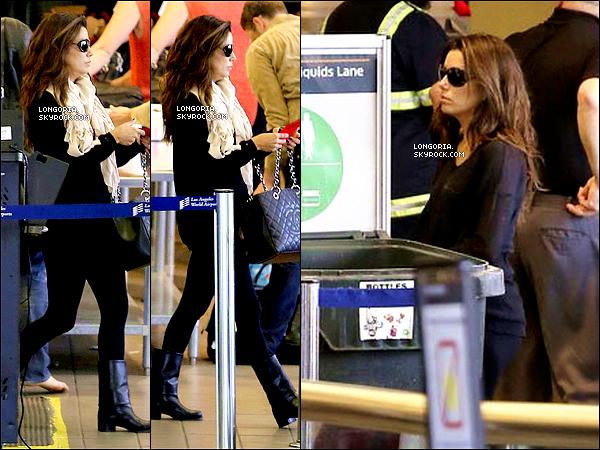 .30/04/13 : La belle Eva a été aperçue à l'aéroport « LAX » pour un vol direction (pour pas changer) New-York..