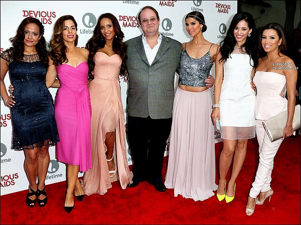 .17/06/13 : Eva Longoria, plus belle que jamais, à la première de « Devious Maids » organisée par LifeTime..