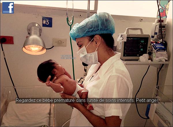 .. facebook ..De nouvelles photos d'Eva en Colombie sont apparues, postée par la belle. .