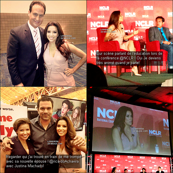 .20/07/13 : Eva Longoria s'est rendue à la « National Council of La Raza 2013 » en Nouvelle-Orléans..