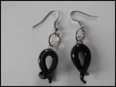 Boucles d'oreilles verre de murano 3