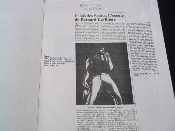 """RARISSIME  DOSSIER DE PRESSE """"FEVRIER 1980 """" 32 PAGES // EDITE PAR BARCLAY POUR LA PROMO"""