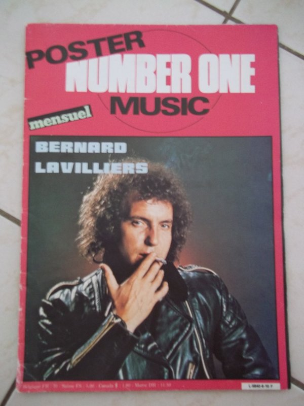 "EXCELLENT PETIT MAG 1982  ""POSTER +PHOTOS"""
