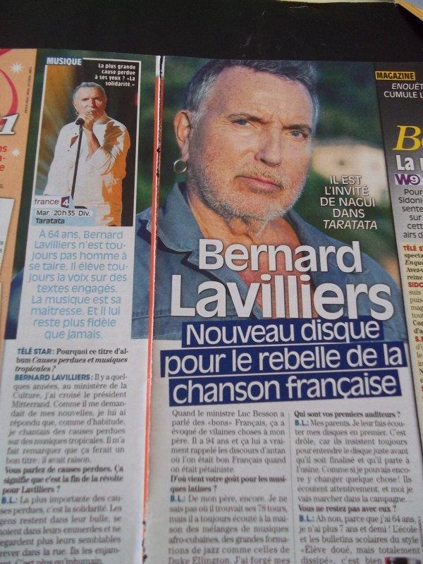 ARTICLE DE PRESSE TELE STAR OCTOBRE 2010