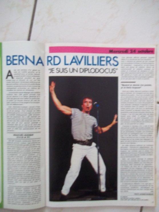 "BEL ARTICLE "" MAGAZINE OCTOBRE 1984 """