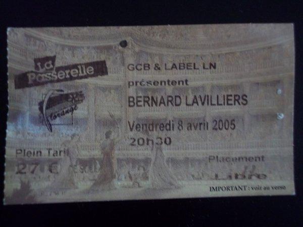 "BILLET AVRIL 2005 "" LA PASSERELLE FLORANGE """