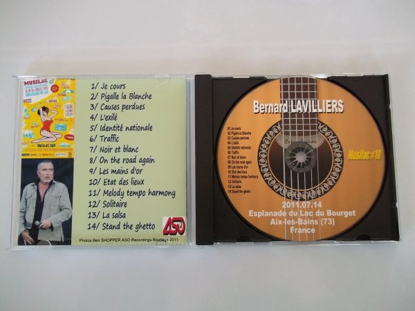 """CD FESTIVAL """" MUSILAC """"  14/07/2011"""